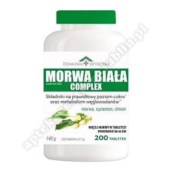 DOMOWA APTECZKA Morwa Biała Complex tabl.