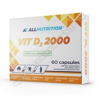 Allnutrition VIT D3 2000 kaps. 60 kaps.