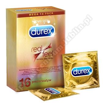 Durex Real Feel Prezerwat. 16szt.