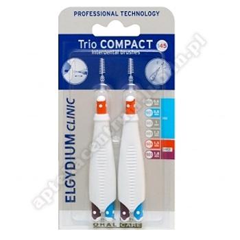 ELGYDIUM CLINIC TRIO COMPACT  szczoteczka międzyzębowa, 2 sztuki