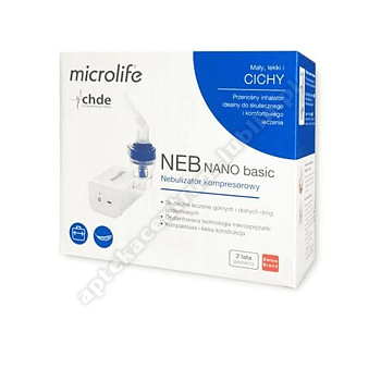 Inhalator Microlife NEB NANO Basic inhalator