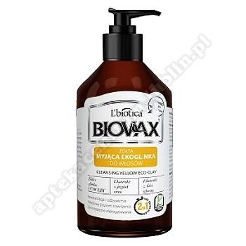 Biovax Myjąca Ekoglinka do włosów żółta 200 ml