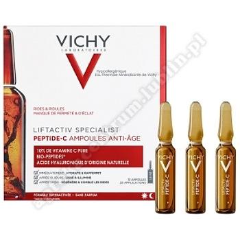 VICHY LIFTACTIV PEPTIDE-C  ampułki 10x1,8ml Skoncentrowana kuracja anti-ageing