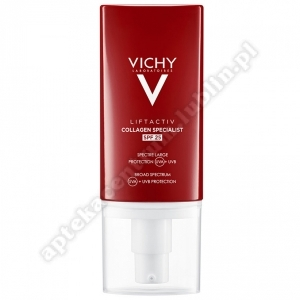 VICHY LIFTACTIV COLLAGEN SPECIALIST SPF 25 50 ml SUPER CENA d. w. 30. 11. 2022r
