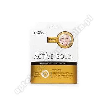 L'BIOTICA Maska ACTIVE GOLD na tkaninie 25 g