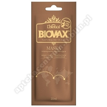 BIOVAX Masecz.Int.Reg. ARGAN MAKADAMIA 20 ml