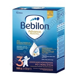 Bebilon 3 z Pronutra Advance 1100 g