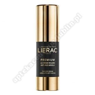 LIERAC PREMIUM Krem  p/oczy przeciwstarzeniowy 15 ml-bez kartonowego opakowania