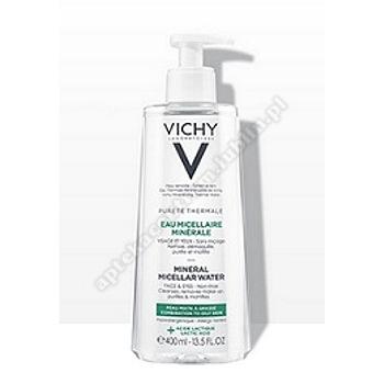 VICHY PURETE THERM. Mineralna woda micelarna+kwas mlekowy (zielony)