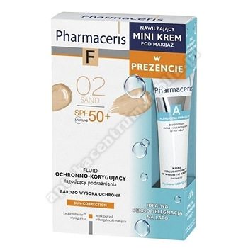 PHARMACERIS F Zes Fluid SPF50+ 02  +  Mini krem nawilżający 15 ml
