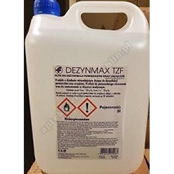 Dezynmax TZF płyn dezynf. o działaniu wirusobójczym 5 litrów