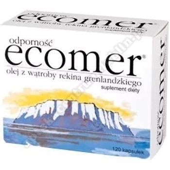 Ecomer Odporność + Wit. E kaps. 120kaps. SUPER CENA