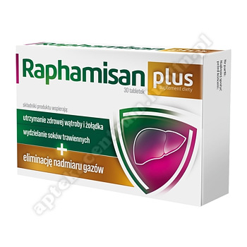Raphamisan Plus tabl. 30 tabl.