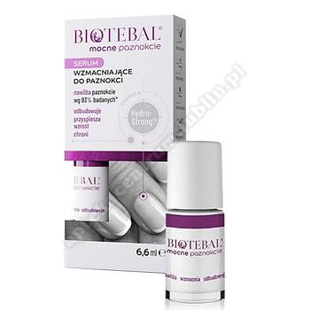 BIOTEBAL MOCNE PAZNOKCIE Serum wzmacniające 6,6 ml