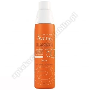 AVENE Spray Bardzo wysoka och 50+ 200ml