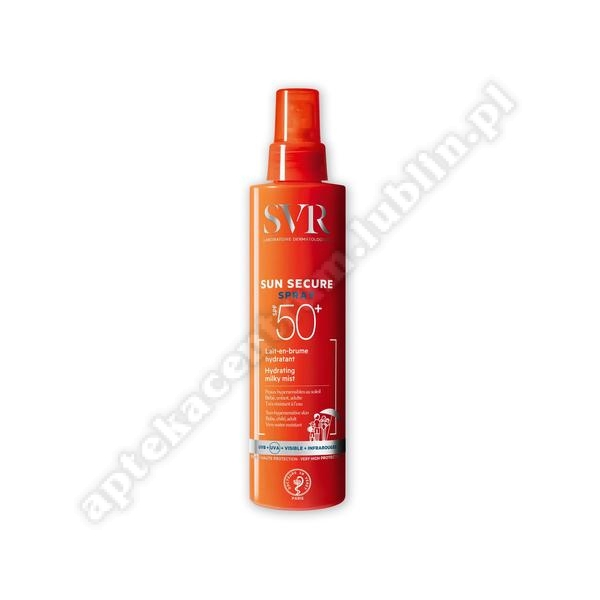 SVR SUN SECURE EAU SOLEIL SPF50 spray 200 ml