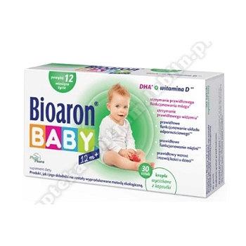 Bioaron Baby 12M+ kaps.twistoff 30kaps.
