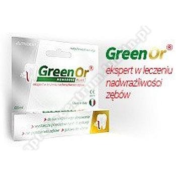 GREEN OR Monodose Plus 0,5 ml-nadwrażliwość zębów-d.w.2021.05.31