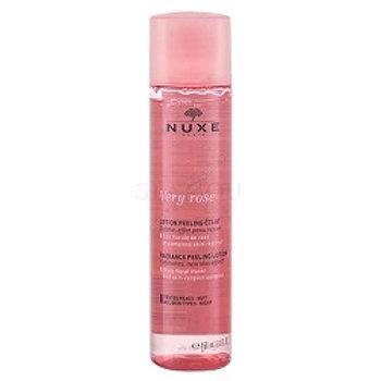 NUXE VERY ROSE Rozświetlający Peeling złuszczajacy 150 ml+woda miceralna 7  ml gratis