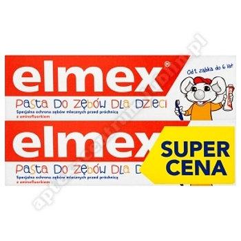 ELMEX Past.do zęb. dla dzieci (0-6) duopack 2szt