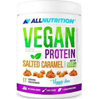 Allnutrition Vegan pea protein solony carmel 500 g