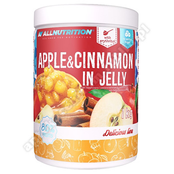Allnutrition Apple & Cinnamon in Jelly 100