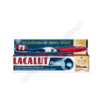 LACALUT FLORA Pasta d/zęb. +Szczoteczka do zębów