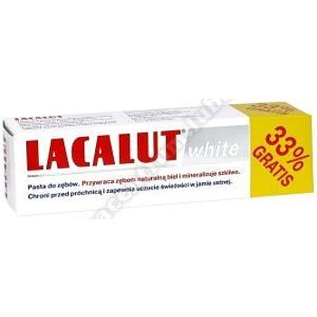 LACALUT WHITE Pasta d/zęb.75 ml (33% gratis)