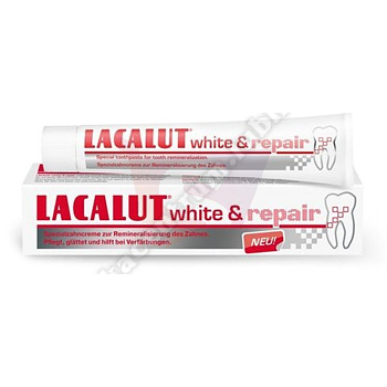 LACALUT WHITE AND REPAIR Pasta d/zęb.75 ml . (33% gratis)