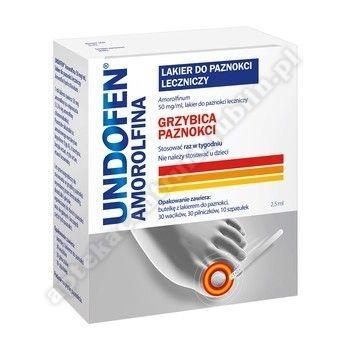 Undofen Amorolfina lakier do paznokci p/grzybiczy 2,5 ml