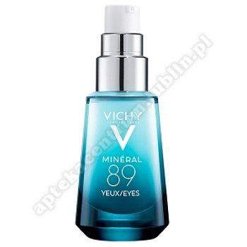 VICHY MINERAL 89 OCZY krem 15 ml+ Kosmetyczka
