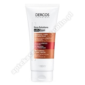 VICHY DERCOS Kera-Solutions Maska 2-minuto odbudowująca, 200ml