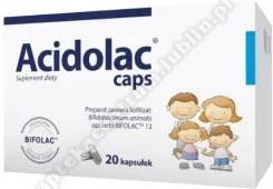 Acidolac caps kaps. 20 kaps.+Omega cardio+ czosnek x 60 kaps