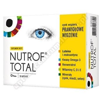 Nutrof Total z Wit. D3 kaps. 30 kaps.