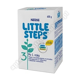 NESTLE Little Steps 3 prosz. 600 g