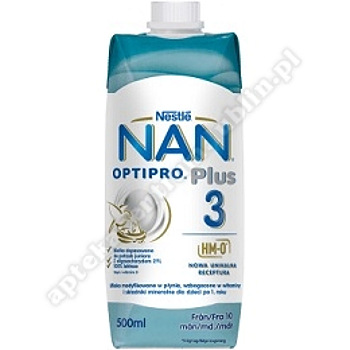 Mleko NAN Optipr.3 liquid 500 ml