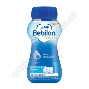 Bebilon 1 z Pronutra ADVANCE płyn 200 ml