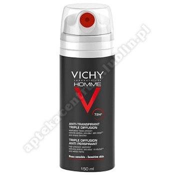 VICHY HOMME 72 h Antyperspirant aer.na skórę 150 ml