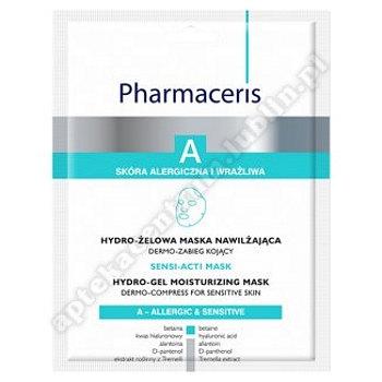 PHARMACERIS A SENSI-ACTI MASK hydro-żelowa 1 szt
