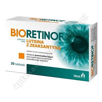 Bioretinof luteina z zeaksantyną 30tabl.