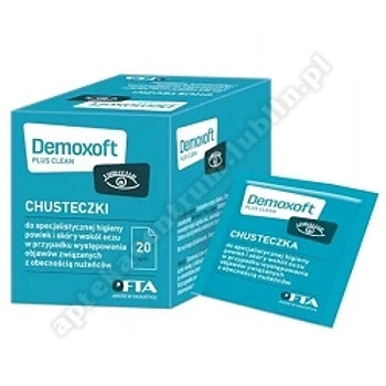DEMOXOFT PLUS Clean chust. 20 sasz.