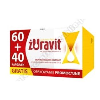 Żuravit 60 kaps.+40 kaps. GRATIS kaps.miękkie