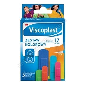 VISCOPLAST Zestaw Kolorowy 17 szt.