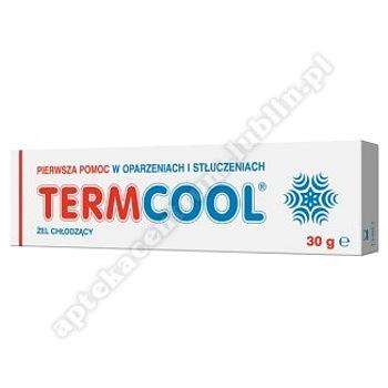 TERMCOOL Żel chłodzący na oparzenia 30 g