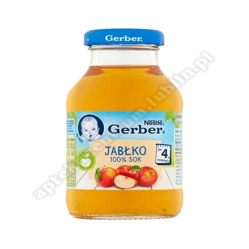Gerber Sok jabłko 100% po 4 miesiącu - 200 ml