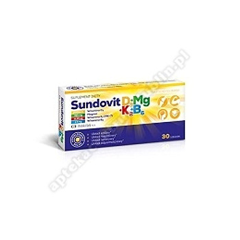 Sundovit D3+Mg+K2+B6 tabl. 30 tabl.