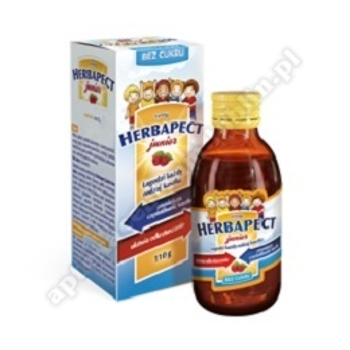 Herbapect Junior bez cukru syrop 110 g
