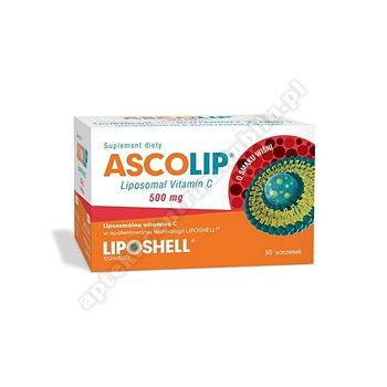 Ascolip Liposomal Vitamin C 500 mg wiśnia 30 sasz.