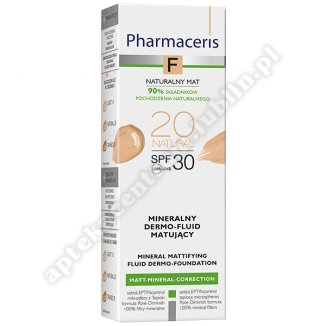 PHARMACERIS F Mineral/mat  20  ,SPF 30 NATURAL 20