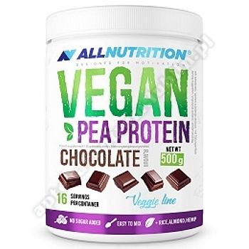Allnutrition Vegan pea protein czekolada proszek 500 g